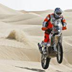 Pablo Quintanilla ascendió al cuarto lugar en el Rally de Abu Dhabi