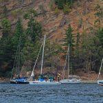 """Tensacón"" lidera la regata Higuerillas - Robinson Crusoe"