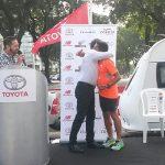 Matías Anguita inició carrera de 1.600 kms. desde Buenos Aires hasta Valparaíso