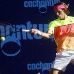 Nicolás Jarry cayó en segunda ronda de la qualy del Challenger de Vicenza