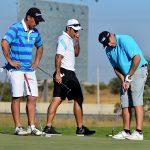 Esteban Paredes y Justo Villar se lucen junto a Carlos Franco en el Pro-Am del Chile Classic