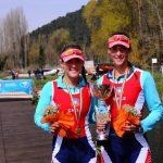 Hermanas Abraham y Josefa Vila logran medallas de oro para el remo en Italia