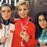 Karateca Carol de la Paz logra medalla de oro en Croacia