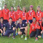 Selección Chilena de Remo logró nueve medallas de oro en el Open de Cataluña
