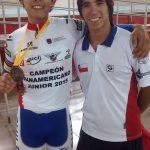 Nicolás González gana el primer oro chileno en el Panamericano Juvenil de Ciclismo