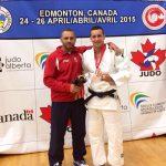 Rafael Romo ganó medalla de bronce en el Panamericano de Judo