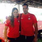 Mahina Valdivia obtuvo el séptimo lugar en el Grand Prix de Aguas Abiertas en Cozumel