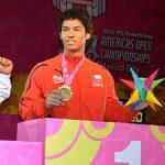 Jorge Carinao gana medalla de oro y rompe récord Panamericano de Pesas Paralímpicas