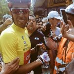 Carlos Oyarzún se coronó campeón de la Vuelta Ciclista de Uruguay