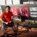 Francisco Cayulef logra gran triunfo en el Chilean Open de Tenis en Silla de Ruedas