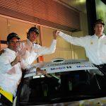Carlo de Gavardo y los hermanos Ibarra listos para su debut en el RallyMobil 2015
