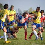 """Los """"Condores"""" se imponen ante Brasil por el Sudamericano Mayor A de Rugby"""