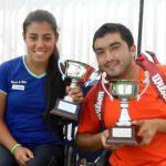 Cayulef y Cabrillana logran el subcampeonato del Abierto de Chile de Tenis en Silla de Ruedas