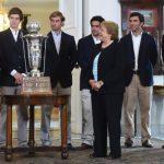 Campeones mundiales de polo fueron recibidos por la Presidenta de la República