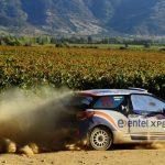 Vicente García-Huidobro ganó la primera jornada del Rally Mobil en categoría R3