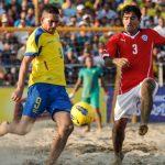 Chile no logró avanzar a las semifinales del Sudamericano de Fútbol Playa