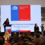 Ministerio del Deporte tuvo su primera Cuenta Pública Participativa
