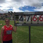 Catalina Bravo suma un nuevo oro para Chile en el Sudamericano Juvenil de Atletismo