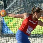 Ivana Gallardo logra nuevo récord de Chile sub 23 en el lanzamiento del disco