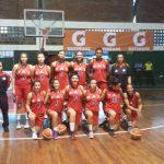 Con histórico triunfo debutó CD Los Leones en la Liga Sudamericana Femenina de Básquetbol