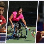 Deportistas paralímpicos nacionales sufren derrotas en tenis de mesa y tenis en silla de ruedas
