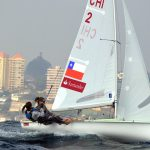 Chilenos suben en el ranking mundial de vela olímpica