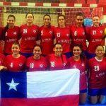 """Las """"Lobas"""" cayeron en su debut por el Panamericano Femenino de Handball"""
