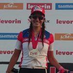 Fernanda Castro logró medalla de plata en Torneo Internacional de Mountain Bike de Brasil