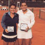Fernanda Brito ganó el título de dobles en el ITF de Villa del Dique