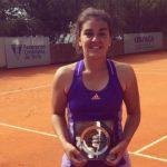 Fernanda Brito se coronó campeona del ITF Villa del Dique