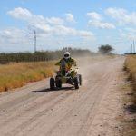 Ignacio Casale terminó en el séptimo lugar de los quads en el Desafío Ruta 40
