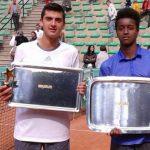 Marcelo Barrios logró el segundo lugar en el ITF Astrid Bowl de Bélgica