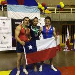 Chile obtuvo tres medallas en el Sudamericano Adulto de Gimnasia