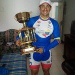 Cristopher Mansilla ganó la clasificación de las metas sprint de la Vuelta Ciclista a Venezuela