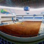 Comenzó la instalación de arcilla en la cancha de La Tortuga de Talcahuano para Copa Davis