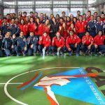 Ministra Riffo encabezó la despedida de la delegación nacional que competirá en la Universiada 2015