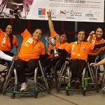 Providencia se coronó campeón del I Nacional Femenino de Handball en Silla de Ruedas