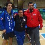 Matias Pino se coronó campeón del Abierto de España de Tenis de Mesa Paralímpico