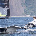 Equipo Grez marcha en el puesto 32 de la Copa del Mundo de Vela Olímpica