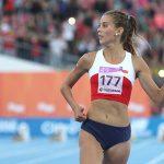 Isidora Jiménez destaca en los 100 metros planos del Nacional de Atletismo de Colombia