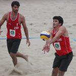 Primos Grimalt suman su primer triunfo en el Mundial de Volleyball Playa