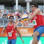 Sin triunfos comenzó la participación nacional en el Mundial de Volleyball Playa