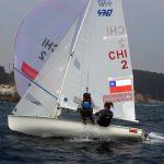 Velero Santander sube al séptimo lugar del Nacional Israelí 470