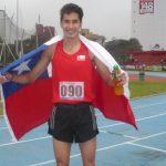 Carlos Díaz se quedó con el oro sudamericano en los 1500 metros planos
