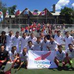 Selección Chilena Masculina de Hockey Césped se instala en la semifinal panamericana