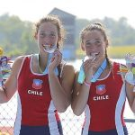 Antonia y Melita Abraham ganan medalla de plata en el remo panamericano