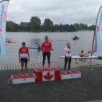Karen Roco ganó medalla de oro en la Canada Day International Regata