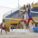 Los primos Grimalt se quedaron con el cuarto lugar del volleyball playa panamericano
