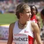 Isidora Jiménez avanza a semifinales de 200 metros planos y clasifica a los Juegos Olímpicos
