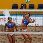 María Francisca Rivas y Pilar Mardones cayeron ante Argentina en el Volleyball Playa Panamericano